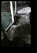 ワゴンR損傷